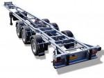 Chereau podvozok je špeciálne navrhnutý a vyvinutý na chladiarenské karosérie. Významne prispieva k lepšiemu priľnutiu vozidla k ceste a k celkovej bezpečnosti. Podvozok Chereau značne znižuje náklady na údržbu karosérie.